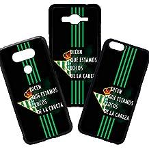 elhuron Carcasas de movil Fundas de moviles de TPU Compatible con iPhone 6 Modelo Real Betis