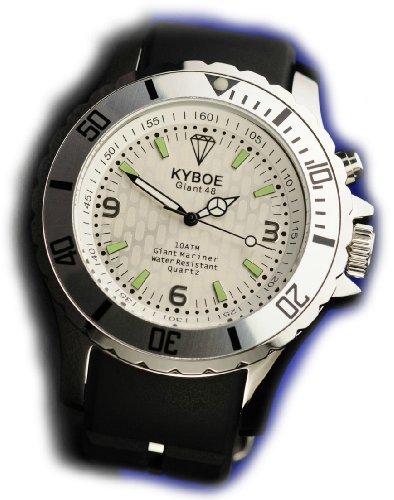 KYBOE! Reloj automático Unisex Negro 40 mm
