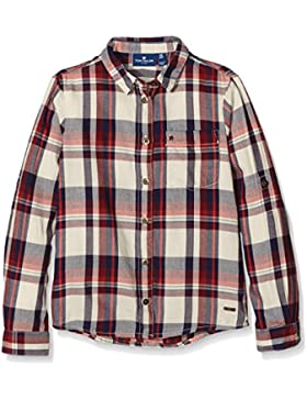 TOM TAILOR Kids Mädchen Bluse Checked Blouse with Rivets