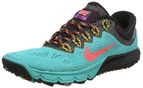 Schwarz 2 Kiger Nike Black Noir Chaussures Terra Hot Lava Retro 403 femme de course Zoom Lt twqHgqz