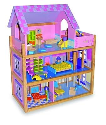 Small Foot Company 1535 - Casa para muñecas, color rosa por Small foot company