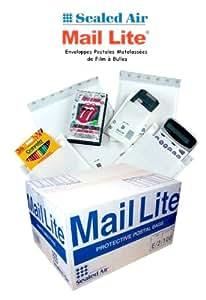 200 Enveloppes bulles MAIL LITE - A/000 - 110x160mm