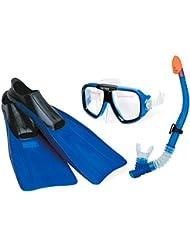 Intex Schnorchelset Reef Rider Sport, Blau, 3-teilig