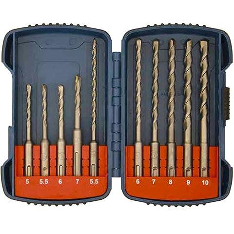 Makita P-66070 SDS Plus Hammer Bit Set - Multi-Colour
