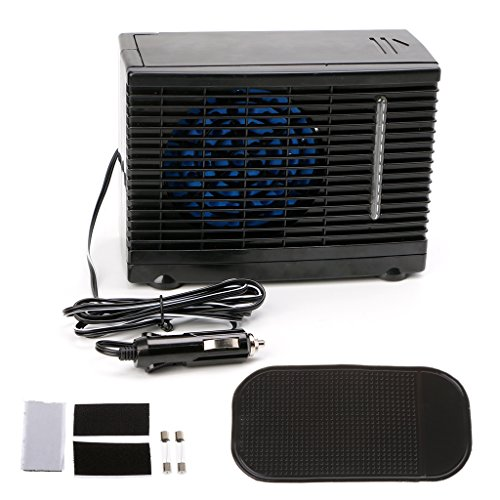Preisvergleich Produktbild Kalttoy Klimaanlage fürs Auto,  Universal-Klimaanlage mit Gleichstrom und 12 V,  Verdunstungskühler,  Tragbare Mini-Klimaanlage