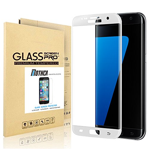Samsung Galaxy S7Edge HD Clear Displayschutzfolie mothca Pet Ultra Dünn Full Deckung Gebogene Kante Schutz blasenfrei, Scratch Resist Soft Handy Schutzhülle Film Lebenslange Garantie