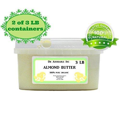 Almond Butter Pure Organic - 6 Lb