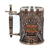 Iron Trono Tankard ufficiale da collezione Game of Thrones - Con scatola