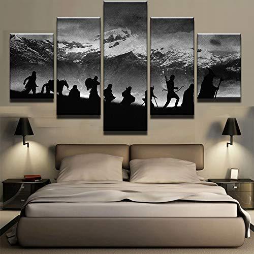 Arte pared modular Cuadro fotos óleo Decoración