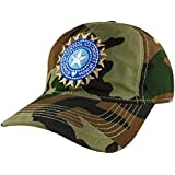 TyranT Indian Cricket Cap Military for Men in Blue and Army Cotton Caps | ODI Test Ipl Indian Cricket Team Cap Free Size Adjustable Army Caps (Army Shade)
