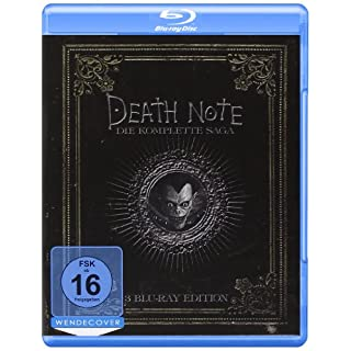 Death Note - Trilogy  (3 BRs),Eine Filmreihe [Blu-ray]
