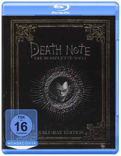 Death Note - Trilogy  (3 BRs),Eine Filmreihe [Blu-ray] (Diabetes 2014)