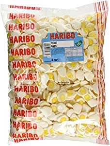 Haribo Fried Eggs Bulk Bag 3 Kg