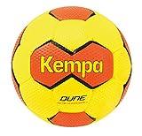 Kempa Dune - Pallone, Verde (Fluo Gelb/Shockred), 2