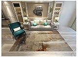 AWLLY Teppiche Geometrisch Muster Polyster, Rechteckig Überlegen Qualität Teppich Gemütlich Shag Dauerhaft Teppich,07,140 * 200CM