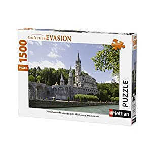 Nathan-Puzzle Santuario Lourdes 1000Piezas, 87787