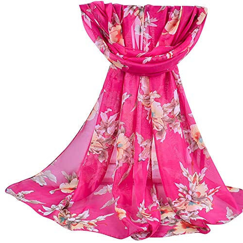 ABsoar Schals Damen Herbstschal Winterschal Mode gedruckt weichen Pashminas Frauen Wraps Lange Schals Festliche Stola Chiffon Stola Bandana Kopftuch Tücher