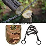 Generic Multiple Function Chain Saw Multifunction Camping Equipment Pocket Chain Saw Outdoor Survival Tool Camping and Hiking Supplies