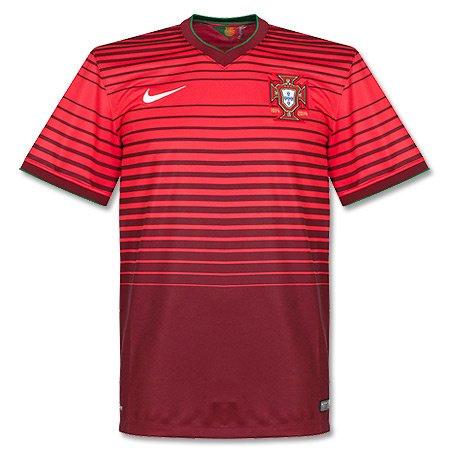 Fußball Trikot Nike JSY Portugal SS HOME STADIUM Fußball Trikot rot