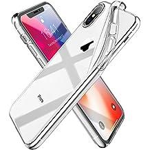 """Syncwire Cover iPhone X, UltraFlex Custodia Morbida e Protettiva [Supporta la ricarica Wireless] con protezione Flessibile e TPU di alta qualità per 5.8"""" Apple iPhone X/10 - Trasparente Cristallino"""