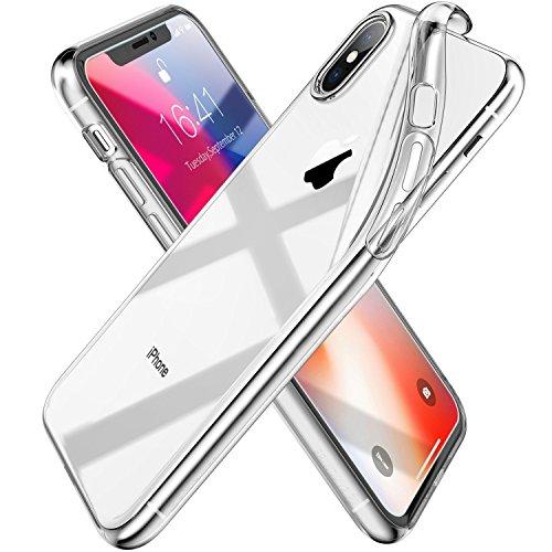 Syncwire sw pc113 custodia ultraflex per iphone x,  custodia morbida e protettiva [supporta la ricarica wireless] con protezione flessibile e tpu di alta qualità per 5.8