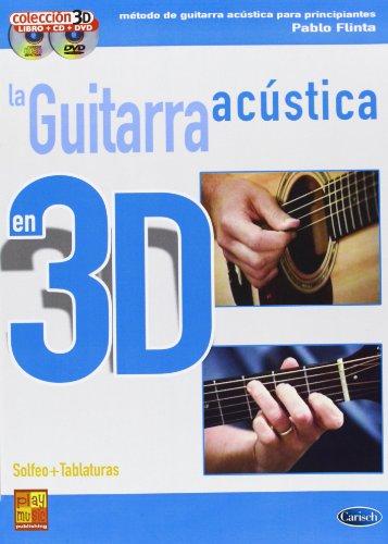 GUITARRA ACUSTICA 3D+CD+DVD (Play Music Espana) por Flinta Pablo