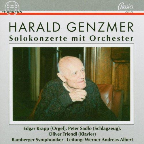 Harald Genzmer: Solokonzerte mit Orchester