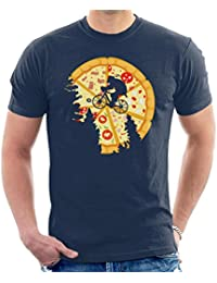 Cloud City 7 Teenage Mutant Ninja Turtles Pizza Moon Men's T-Shirt
