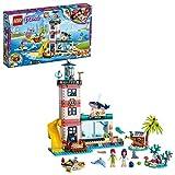 LEGO®-Friends Le centre de sauvetage du phare Jouet pour Fille et Garçon à Partir de 6 Ans et Plus, 602 Pièces 41380