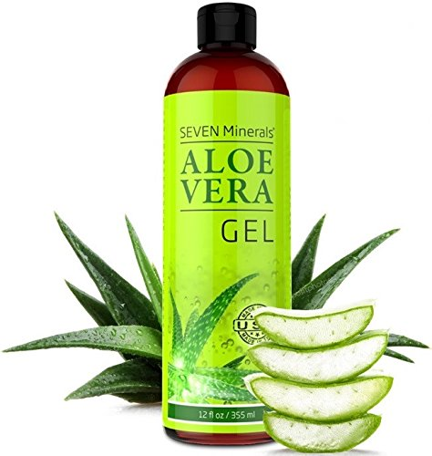 Aloe Vera GEL - 99% biologisch, 12oz - KEIN XANTHAN, zieht schnell...