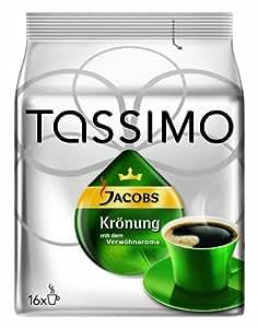 Tassimo Jacobs Krönung, 2er Pack (2 x 16 Portionen) - Auslaufartikel
