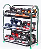 #10: Patelraj Metal shoe stand ( Multicolour, 3 shelves)