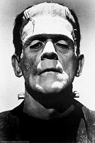 Frankenstein Poster Boris Karloff (61cm x 91,5cm) + Ü-Poster (Boris Frankenstein)