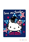 Hello Kitty Kuscheldecke Polarfleece - 120 x 140 cm - ELVIS - Aktion -