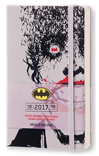 Agenda 18m semainier batman 2016-2017 poche