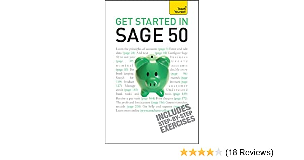 Get started in sage 50 teach yourself an essential guide to the get started in sage 50 teach yourself an essential guide to the uks leading accountancy software ebook mac bride amazon kindle store fandeluxe Choice Image