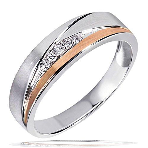 Goldmaid Damen-Ring 925 Sterling Silber Zirkonia weiß Gr.60 (19.1)