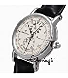 Chronoswiss Chronoscope Automatic Manual Wind Stainless Steel Mens Strap Watch CH-1523