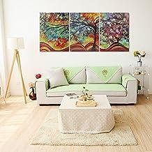 raybre art pcs impresin sobre lienzo cuadro paisajes abstractos modernos rboles de la vida colores