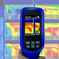 Wärmebildkamera Infrarotkamera LCD Farbdisplay Gebäude Sanierung Schimmel Taupunkt Energiepass IR3-FBA