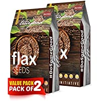 BERTINS Truefood Flax Seeds (Pack of 2) 800g