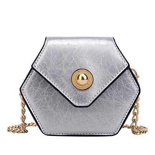 Damen Taschen Shoulder Bag Handtasche Schultertasche Satchel Schulter handbag Rucksack,Perle Leder Süßigkeit Nette Farbe Umhängetasche Kette Strandtasche - Perlen-leder-schulter-tasche