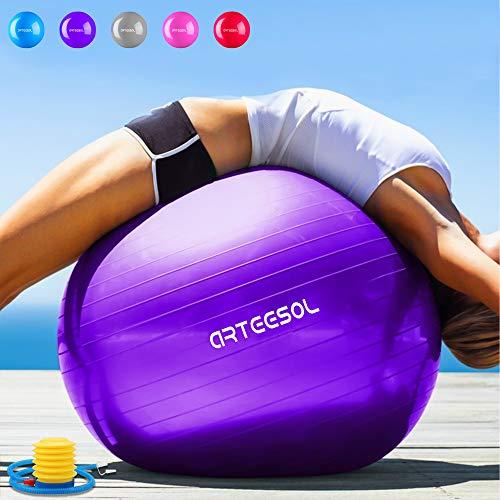 Arteesol - Pelota Ejercicio Antideslizante Yoga, Yoga