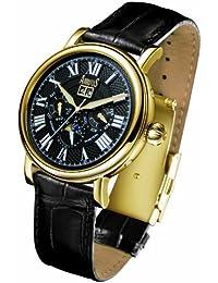 503073886a Arbutus New York - AR305GBB - Montre Homme - Automatique - Analogique -  Bracelet cuir noir