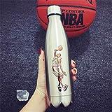 YuYa Gourdes Coupe Star de Basket-Ball Coke canettes Tasse Sport Tasse C2 500ML-28x8cm