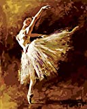 Faim Paintings Canvas Print Of Modern Art Ballerina - Frameless, 24x30 Inch best price on Amazon @ Rs. 799