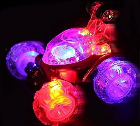 Jouet de voiture Rechargeable / voiture Stunt / voiture à télécommande / jouet voiture 360 Twister radio-commandé pour enfants avec lumières clignotantes avec de la musique
