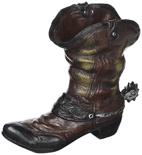 Old West Boot Planter (pack of 1 EA)