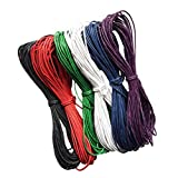 #2: NF&E 10 Meter 1.5mm Waxed Wax Cotton Cord String Thread Wire Jewelry Bracelet Making#5