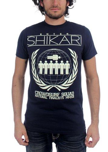Enter Shikari -  T-shirt - Uomo Blu blu navy
